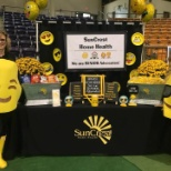 Our SunCrest branch at the Senior Expo.  They took 2nd place for their booth!!