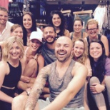 Lululemon Athletica photo: After an in-store yoga class before a meeting!