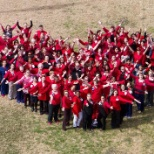 On Fridays, we wear red! Happy National Wear Red Day from our Baylor Scott & White Health family!