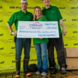MN Pro paintball photo: Donation from our 5th annual Challenge for Children's event. Over $130,000 donated in 5 years!