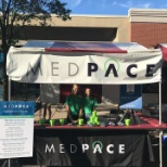Medpace is very involved in the community. We sponsor multiple runs, including the Hyde Park Blast!