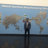 Global reach of Abbott Nutrition International