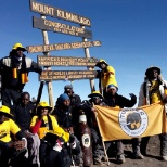 Our Kenyan team have become the largest African group to summit Uhuru Peak of Mt. Kilimanjaro!