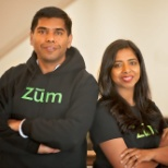 Zum CEO, Ritu Narayan and COO, Vivek Garg