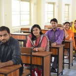 photo of British Council, i am the second one in pic. these are my colleges