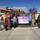"Columbia Forest Products Klamath Falls employees and families 6.2-mile ""March for Babies"" charity"