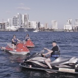 2017 Results Council winners enjoying their time jet skiing in the Pacific