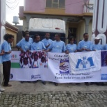International Medical Corps Field Office Staff Celebrating Global Hand Washing Date