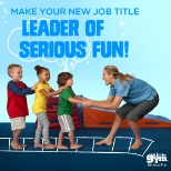 The Little Gym photo: Make your new job title Leader of Serious Fun!