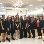 Here are some of my team members at the Clackamas Macys with me in my dress dept.
