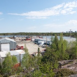 Westcan Bulk Transport photo: RTL-Westcan yard in Yellowknife, NT.