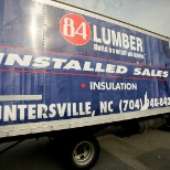 84 Lumber Company Photo Huntersville Installed Sales Truck