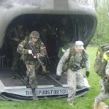 we all were going to be Jump Qualified per our 1st Sgt.