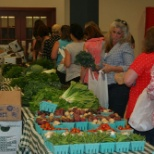 Farmers Market Event at the Webster Campus