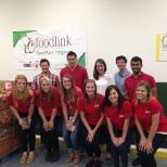 Rochester interns volunteer at local Foodlink.