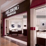 Beautiful storefronts are a signature characteristic of Helzberg Diamonds locations.