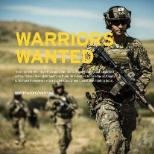 Warriors wanted to serve your country, and community.