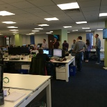 DraftKings photo: Open work environment
