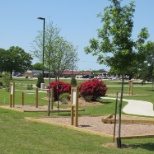 PALO PINTO GENERAL HOSPITAL photo: Take a few minutes each work day to walk our quarter mile outdoor track.