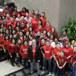 Viverae photo: Wear Red Day