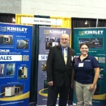 Kinsley Group, Inc photo: Kinsley Employees at the CT Home Show