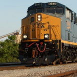 CSX photo: How tomorrow moves.