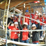 We love giving back to our community - Patelco team members with Habitat for Humanity