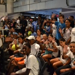 NYJTL Visits Niketown for Q&A with Dmitrov
