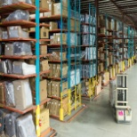 Distribution Center inventory racking