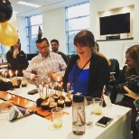 Birthday celebrations at IMI HQ!