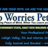 No Worries Pet Sitting photo: No Worries Pet Sitting. Fully insured and bonded.