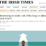 Career advice from our MD in the Irish Times