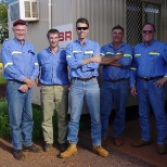 Crew of the Pilbara Housing Project