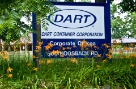 Welcome to Dart's headquarters in Mason, Michigan