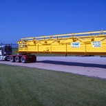 Whiting crane ready for shipment