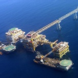 Plateforme Offshore Iranienne- Engineering TECHNIP- Construction:SADRA SAMSUNG-