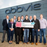 AbbVie photo: Ireland is among more than 12 countries in which AbbVie is recognized as a top employer.
