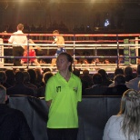 Global Security Stewarding Limited photo: Staff working a boxing match in Hull.