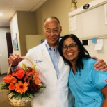 SIERRA NEUROSURGERY GROUP photo: Enjoying flowers from a patient!