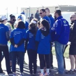Bellatrix Exploration Ltd. photo: United Way Plane Pull Charity Event