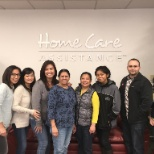 Home Care Assistance photo: Payroll team at our Sunnyvale finance office.