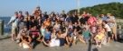 Group photo at our 2013 summer outing on Thompson Island