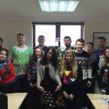 Our Text Santa Christmas jumper appeal