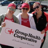 Group Health Cooperative of South Central Wisconsin photo: Running at Crazy Legs!