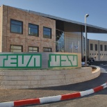 Teva Pharmaceuticals photo: Teva plant in Israel