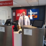 Avis Budget Group photo: We installed plexiglass shields to keep our customers and employees safe.