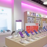 The inside of our Tbooth wireless stores!