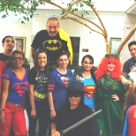 SUPER HERO/VILLIAN DAY in celebration of Rehab Week 2014