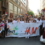 H&M Employee's showing their PRIDE!