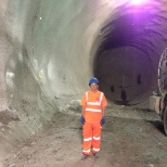 Northern Rail photo: Crossrail tunnel project